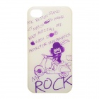 ROCK Mr. Rock Cool Protective PC Case for Iphone 4 / 4S - Yellow