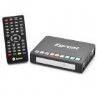 EGREAT R6A-II 1080P Network Media Player w/ Dual USB / eSATA / LAN / HDMI - Black (256MB)