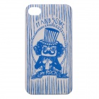 ROCK Mr. Rock Pattern Cool Protective PC Case for Iphone 4 / 4S