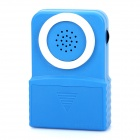 Mini Handheld Cell Phone Telephone Voice Changer - Blue (9V Battery)