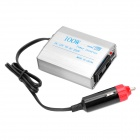 100W Car DC 12V to AC 220V Power Inverter w/ USB Output - Silver