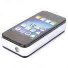Stylish Cool Apple iPhone Style Windproof Gas Lighter - Black