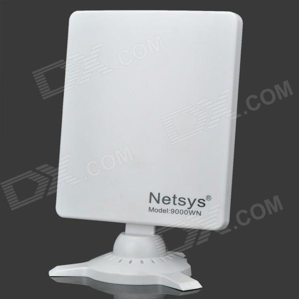 NETSYS 9000WN 6800mW 802.11b/g/n 150Mbps USB 2.0 Wireless Network Adapter - White