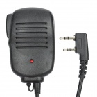 Walkie Talkie Microphone for KENWOOD TK-3107 / TK-3207 / TK-2107 / TK-2207 / TK-308 + More - Black