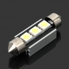 SV85 Canbus 0.4W 6500K 18-Lumen 3-SMD LED White Light for Car (DC 12V)