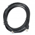 USB Printer Scanner Connection Cable - Black (500cm)
