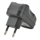 USB Power Adapter/Charger - Black (100~250V/EU Plug)