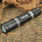 NEW-626A Cree XR-E Q5 300-Lumen 3-Mode White Light LED Flashlight - Black (1 x 18650 Included)