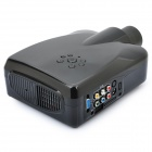 "3.2"" LCD LED Projector with AV / S-Video / VGA / HDMI / TV - Black"