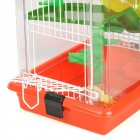 Cute Hamster Cage Pet House Small Playground - Random Color