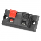 WP2-3 DIY Terminal Block Binding Post - Preto + Vermelho (4-Piece Pack)
