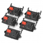 DIY WP2-9 Terminal Block - Black + Red (5-Piece Pack)
