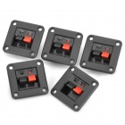 DIY WP-25 Terminal Block - Black + Red (5-Piece Pack)
