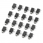 PJ-2510 DIY 2.5mm Stereo Audio Jack (20-Piece Pack)