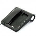 Unique Telephone Landline with Bass Speaker for iPhone 4 / 4S - Black