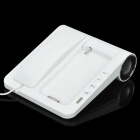 Unique Telephone Landline with Bass Speaker for iPhone 4 / 4S - White