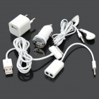 5-in-1 Charger Kit for iPhone 3GS / 4G / 4S