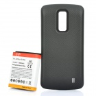 Replacement 3.7V 3800mAh Battery Pack w/ Back Cover for LG P930