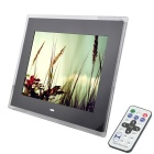 "15"" TFT LCD Digital Photo Picture Frame w/ Remote Control / CF / SD / MMC / XD / DC - Black (16MB)"