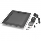 "15""TFT LCD Digital photo Picture Frame w/Remote Control/SD/MMC/MS/DC-Black(16MB)"