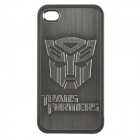 Transformers Autobots Image Pattern Protective Case w/ Screen Film & Cleaning Cloth for Iphone 4/4S