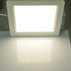 16W 1000LM 4000~5000K Warm White Light 160-LED Flat Lamp (AC 85~265V)