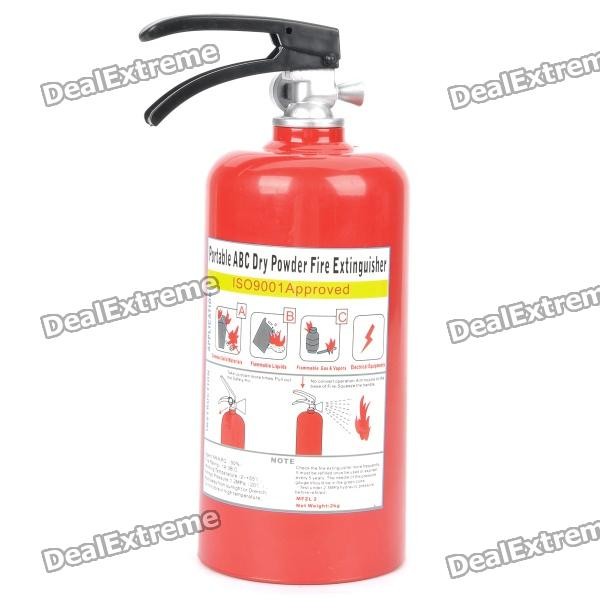 Fire Extinguisher Style Coin Bank - Red cool funny bomb shape coin bank w sound