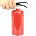 Fire Extinguisher Style Coin Bank - Red