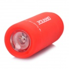 Mini USB Rechargeable Waterproof 5000K 25-Lumen 2-Mode White LED Flashlight - Red