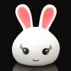 Rabbit Style LED Expression Colorful Light Lamp - White