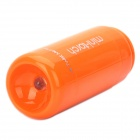 Mini USB Rechargeable 5000K 25-Lumen 2-Mode White LED Flashlight w/ TF Card Reader - Orange