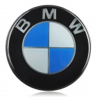 BMW Logo Style Car Decorative Badge (Blue + Black + White)