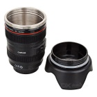 Unique Plastic Simulation Dummy Zoom Lens Style Cup / Ashtray / Money Box / Pen Holder (400ml)