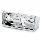 0.5~5W LED Reflectors - Silver (40 x 16 x 13mm / 5-Pack)