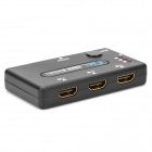 4-porttinen 19-Pin naaras 1080P HDMI Switch vaihtaja kauko-ohjain (3 IN / 1-OUT)