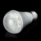 E27 5W 450LM 3000~3500K Warm White 5-LED Light Lamp Bulb (AC 85~265V)