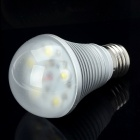 E27 5W 450LM 6000~6500K Neutral White 5-LED Light Lamp Bulb (85~265V)