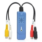 1-Channel USB Video Grabber Capture Adapter - Blue (PAL / NTSC)