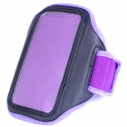 Outdoor Sports Armband for Samsung Galaxy Nexus i9250 - Black + Purple