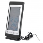 "5.2"" LCD Digital Weather Forecast Indoor / Outdoor Thermometer (3 x AA)"