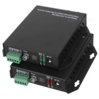 1-CH Video & 1-CH Data Digital Optical Fiber Media Converter Transmitter and Receiver Set