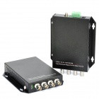 4-CH Digital Video Optical Fiber Media Converter Transmitter Receiver