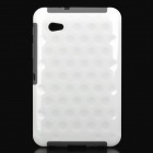 Protective PC Back Case for Samsung P6200 Galaxy Tab 7.0 Plus - White