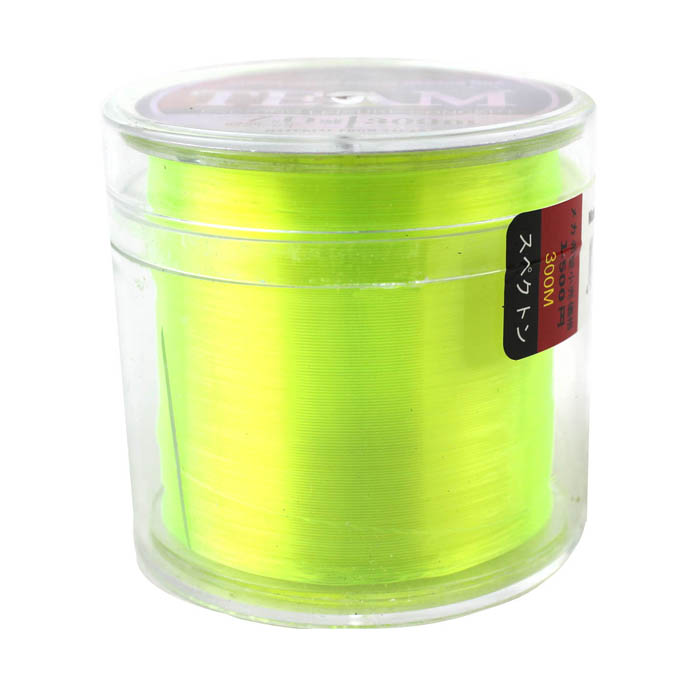0.450mm 300M Resin Fishing Line / Thread - Yellow (#7)