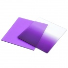 Graduated Gradual Purple Lens Filters Set (2-Piece Pack)