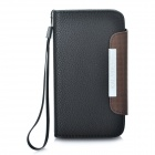 KALAIDENG Защитные PU Leather Case W / ремешок для HTC G21 / X315E / G14XL - Black