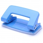 EAGLE Two-Hole Steel Paper Punch - Blue (Hole Diameter-6mm)