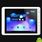 "Dropad A8E 8"" Capacitive Android 3.0 Tablet w/ Bluetooth / Camera / WiFi / External 3G - White (4GB)"