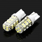 T10 14W 7000K 336-Lumen 28-1206 SMD LED White Light Car Dashboard Lamps (DC 12V / Pair)