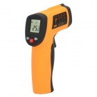 "BENETECH 1.2"" LCD Digital Infrared Thermometer - Orange + Black"